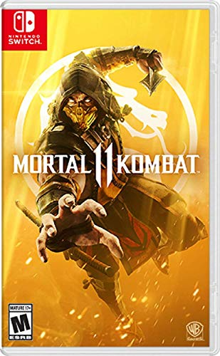 Mortal Kombat 11 - Nintendo Switch (World Best Fighting Games)