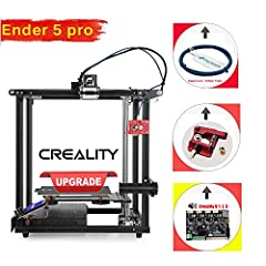 We upgraded ender5, it is ender5 pro You will find that he is quiet, you can also use it with confidence.upgrade 1【V1.1.5 Silent Mainboard】upgrade 2【Metal Extruder Frame】upgrade 3【Premium PTFE Tube】Ender-5 pro Machine Parameter: Model: Ender ...