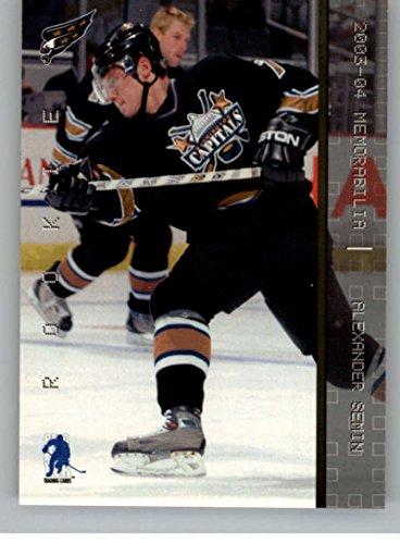 2003-04 Be A Player Memorabilia #193 Alexander Semin RC Rookie Card Washington Capitals ()