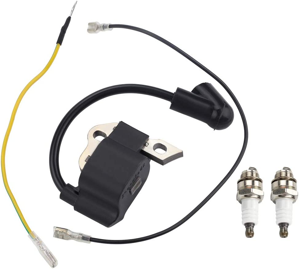Kuupo 1130 400 1302 Module MS170 Ignition Coil with Spark Plugs for Stihl 017 018 MS 170 MS180 Chainsaw Parts