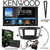 Kenwood Excelon DDX795 6.95 DVD Receiver iDatalink KIT-C200 Dash and wiring kit for select Chrysler, ADS-MRR Interface Module and BAA22 Antenna Adapter and a SOTS Lanyard