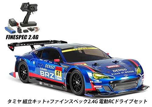 タミヤ RCC BRZ R&D SPORT 2014 (TT-02) 組立キット+2.4G 電動ドライブセット 品番45053-58607 B07RD5JMSB