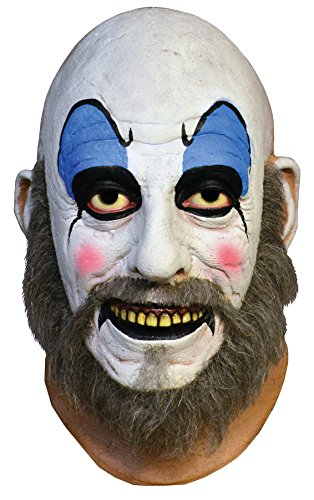 Clown Costume Captain Spaulding (UHC Men's Horror House of 1000 Corpes Captain Spaulding Party Halloween)