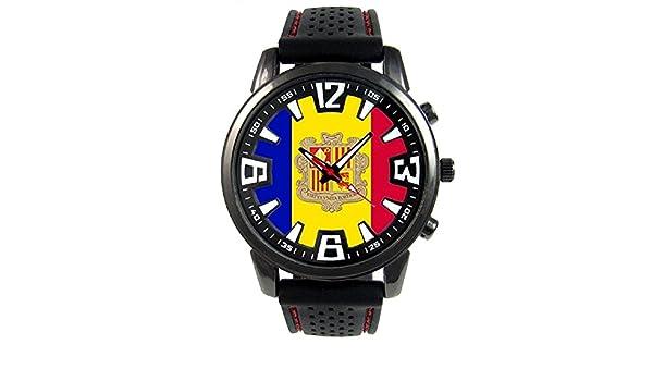 Andorra Reloj para hombre con correa de silicona: Timest: Amazon.es: Relojes