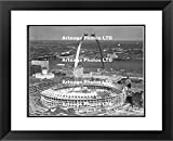 Busch Stadium and Gateway Arch Construction in 1965 - Original Photography Print - Arteaga Photos - 24''x28'' Framed Double Matted Print