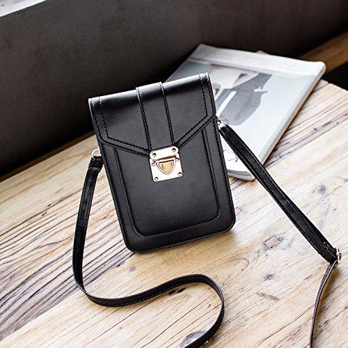 Vintage A Bag Piccola Tracolla Quadrata Del Telefono Mobile Il Zhangjia Sacchetto Raccoglitore Mini Inclinato Marrone Borsa qwpSxwIEg