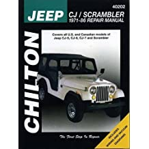 Jeep CJ/Scrambler 1971-86