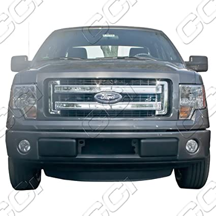 Amazon Com 2013 2014 Ford F150 Chrome Grille Overlay Automotive