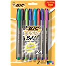 BIC Cristal Bold Ball Pen 24pk Assorted