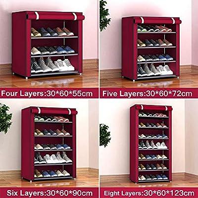 3//4//5 Tier Storage Shoe Rack Hallway Organizer Shoe Cabinet Shelf DIY Home