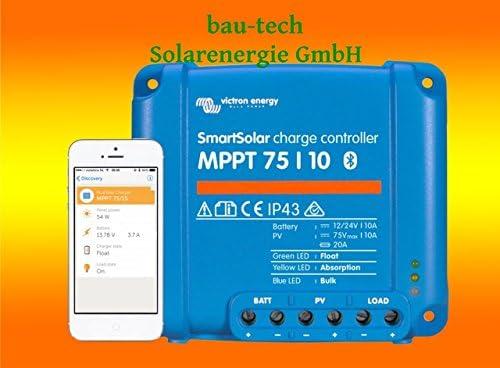 Victron Smartsolar MPPT Laderegler 75/10 10Amper 12V oder 24V inklusiv Bluetooth von bau-tech Solarenergie GmbH