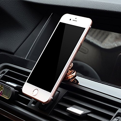 Dashboard BB Magnetic Phone Car Mount Holder, Universal Dashboard Car Phone Holder for iPhoneX/8Plus/7 Plus/6/6S Samsung Galaxy S9/S8/S7/S6 Note 8/7/6 BlackBerry Keyone. (Black) by Beachbunnies