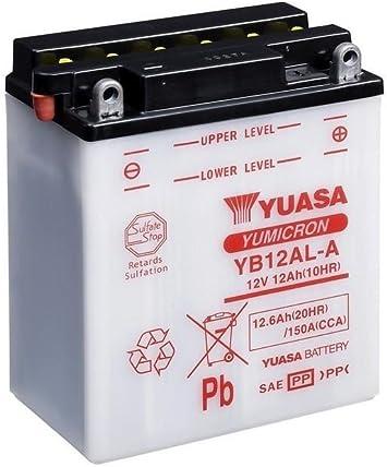 Batterie Yuasa Yb12al A Dc Offen Ohne Säure 12v 12ah Cca 150a 136x82x162mm Auto