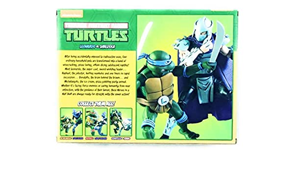 NECA Leonardo V Shredder (Teenage Mutant Ninja Turtles ...