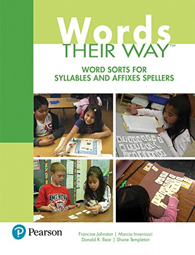 Words Their Way: Word Sorts for Syllables and Affixes Spellers (3rd Edition) (Words Their Way Series)