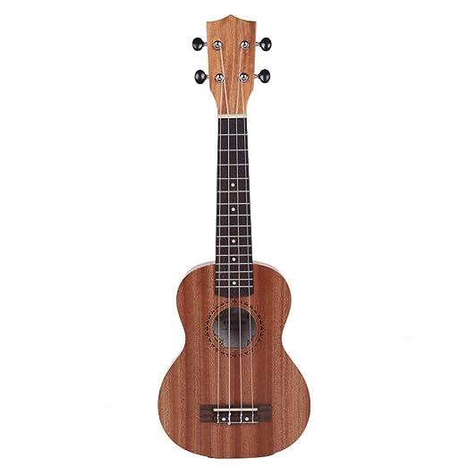 Kanqingqing Ukelele Guitarra Ukulele 21 Pulgadas 4 Cuerdas ...