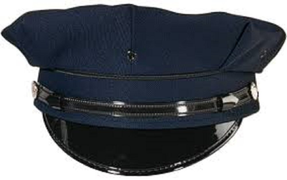 Rothco Men's Professional 8 Point Police Security Hat 7 1/2 Navy Blue