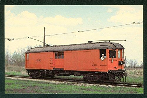 Chicago Milwaukee DISPATCH CAR 229 North Shore Illinois Train Railroad Postcard ()