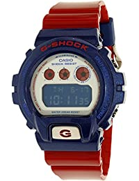 Casio Men's G-Shock DW6900AC-2 Red Resin Quartz Watch