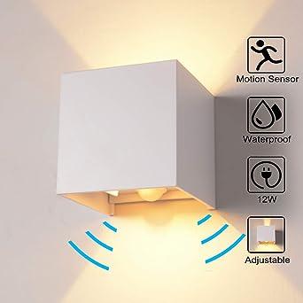 Favorit Wandleuchte Bewegungsmelder Aussen/Bewegungsmelder Innen LED CA37