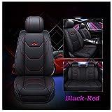 JOJOHON Luxury PU Leather Auto Car Seat Covers 5
