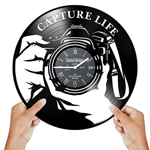 Photographer Clock - Photographer Gifts for Women...
