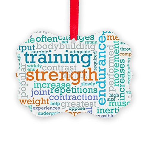 CafePress - Strength Training Concept As A Wo - Christmas Ornament, Decorative Tree Ornament