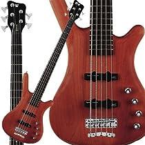 Warwick RockBass Corvette Basic 5-String Bass (Burgandy Red)