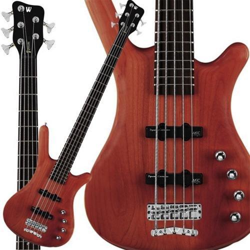 Corvette Bass - Warwick RockBass Corvette Basic 5-String Bass (Burgandy Red)