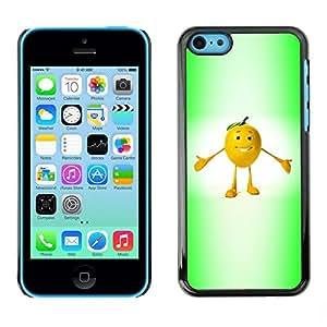 Be Good Phone Accessory // Dura Cáscara cubierta Protectora Caso Carcasa Funda de Protección para Apple Iphone 5C // Funny Fruit