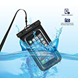 "Waterproof Phone Case iPhone 7 Plus, WiHoo Universal Waterproof Phone Pouch for iPhone 7 / 7 Plus / 6/ 6s/ 6 Plus/ 6s Plus and Other Smart Phone Credit Card Wallet Waterproof Case Up to 6.0""(3-Pack)"