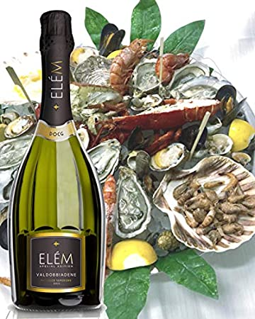 ELÈM Valdobbiadene DOCG Superiore Vino Espumoso Italiano - 1 Botella X 750ml