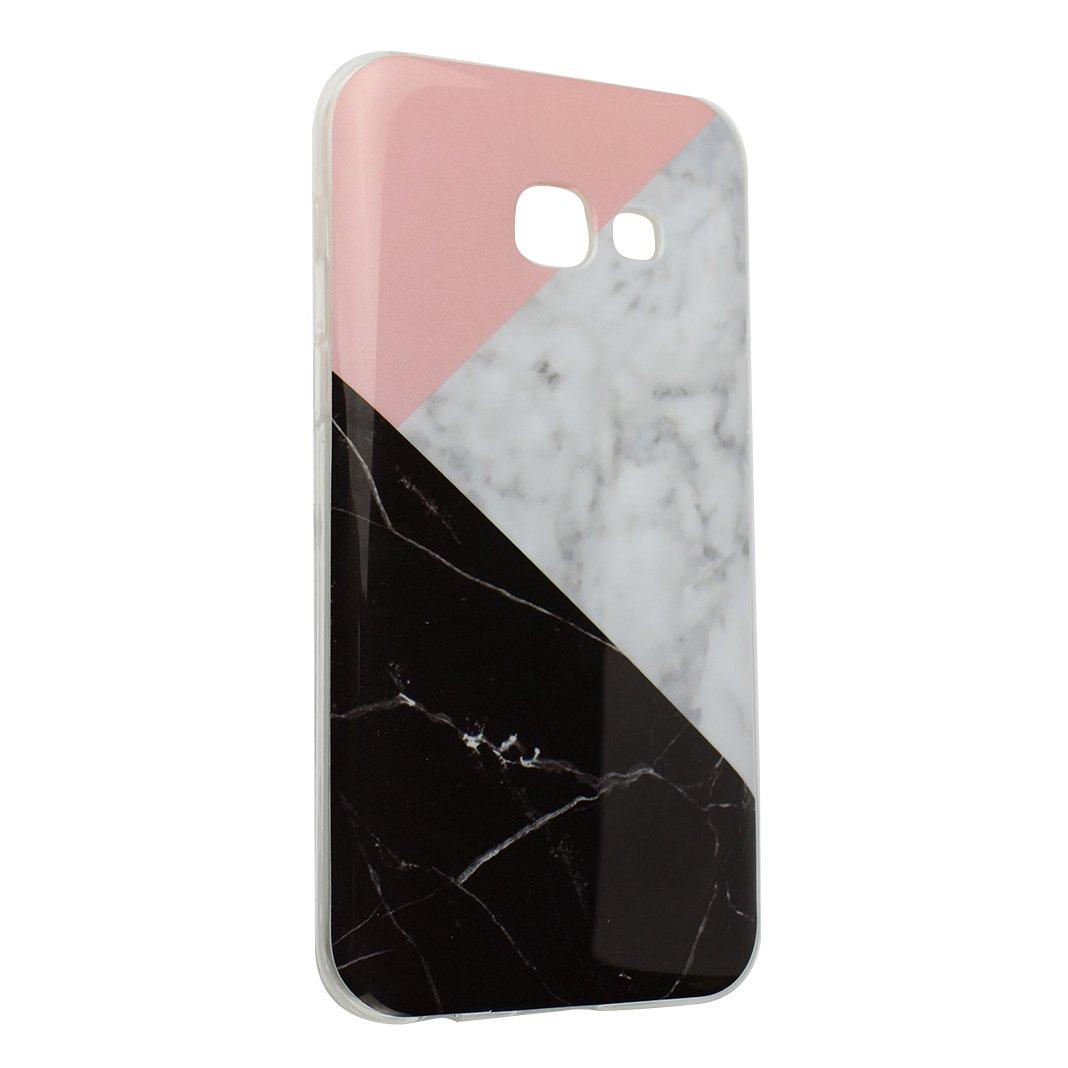 Cover Galaxy A5 2017 Custodia Silicone, Moon mood Ultra-Thin Soft Gel TPU Cover Colorful Marble Case Bumper Skin Scratch Resistant Posteriore Morbido Caso Custodia Cover per Samsung Galaxy A5 2017