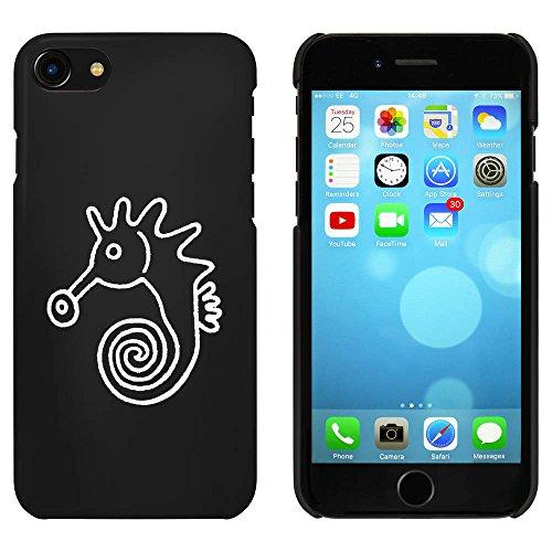 Noir 'Hippocampe' étui / housse pour iPhone 7 (MC00078471)