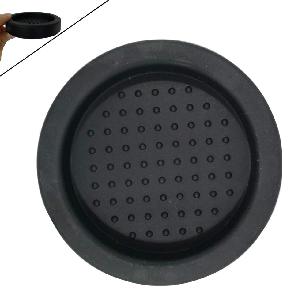 Joy-Now Soft Silicone Coffee Tamper Mat/Espresso Machine Replacement Accessories Tamper Stand 2.36 inch (Inner Diameter)