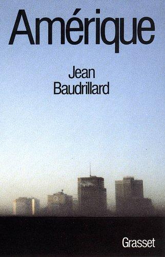 Amazon.fr - Amérique - Baudrillard, Jean - Livres