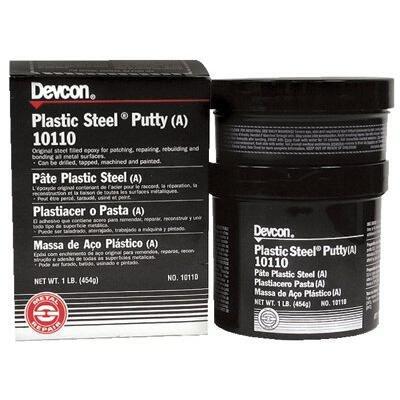Devcon 10130 Gray Plastic Steel Putty (A), 25 lb.