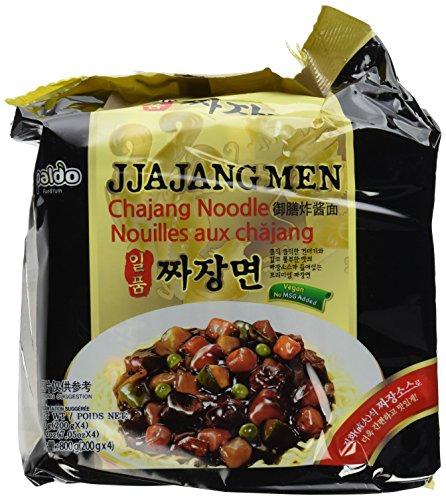Beans Black Vegan (Paldo Jjajangmen Chajang Noodle Vegan No MSG 16-pack)