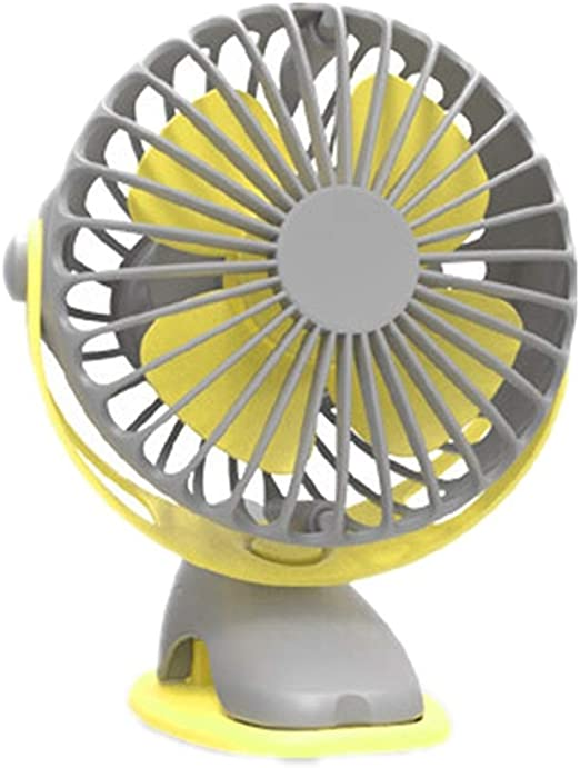 Color : Yellow Jajx-comac USB Personal Desk Fan Handheld Mini USB Fan Small Rechargeable Portable Handheld Desktop Outdoor for Home Office Table