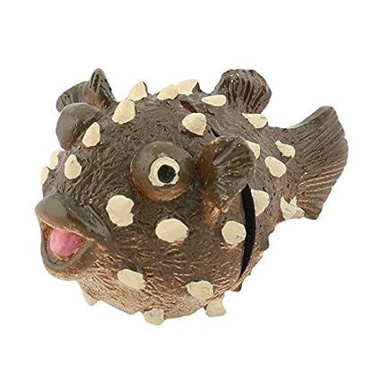 eDealMax peces de acuario tanque de pescado de Forma más limpia de Cristal magnético de cepillo