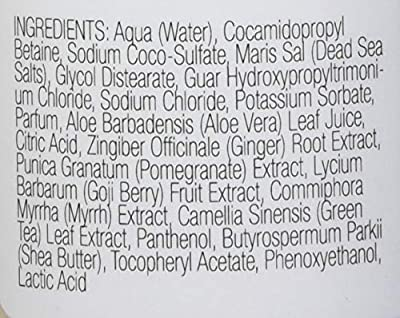 One With Nature Dead Sea Mineral Body Wash Lavender, 12 Fluid Ounce