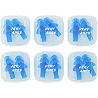 6 Pairs Silicone Swimming Earplugs Set, Ear Plugs for Ear...