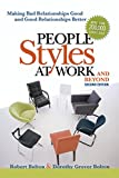 Why is it so hard to work well with some people? People Styles at Work...and Beyond presents a comprehensive, practical, and proven method readers can use to:   - recognize how they come across to other coworkers  - read others' body language...