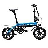 2016 Summer Richbit 14 In Blue Mini Folding Ebike 250W *36V Folding Electric Bicycle V Brakes