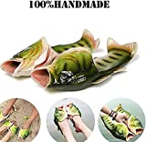 Fish Animal Slippers Character Flip Flops Summer Beach Sandals Shower Slippers Non-Slip Beach Shoes Wear for Women Men Casual Shoe