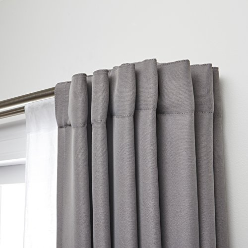 Umbra Twilight Double Curtain Rod Set U2013 Wrap Around Design Is Ideal For  Blackout Curtains Or