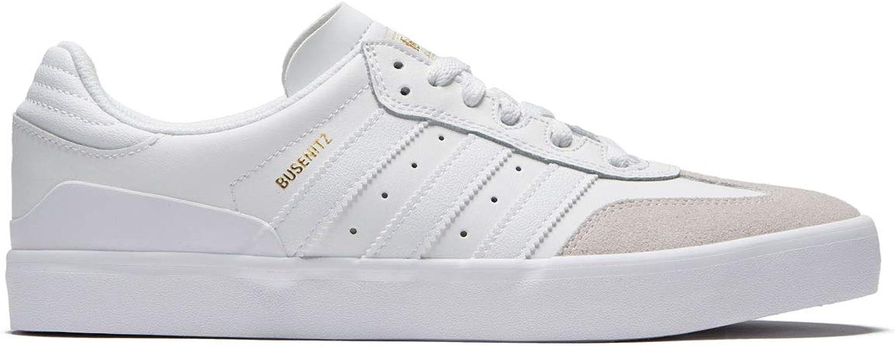 formal Víctor amenazar  Amazon.com | adidas Men's Busenitz Vulc RX Skate Shoe (7 D(M) US,  White/White/Gold) | Fashion Sneakers