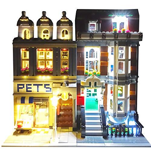 Pet Shop Lighting Kit for set 10218 set by Brick Loot