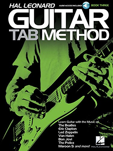 Download Hal Leonard Guitar Tab Method Book/Audio 3 pdf