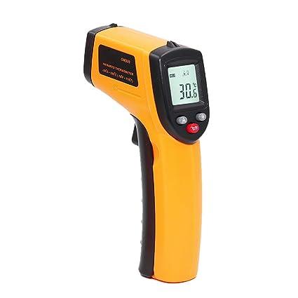 Termometro digital laser,Rango de temperatura de medición de -50 ° C a 380